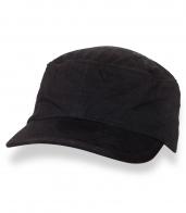 Классическая мужская черная кепка-немка