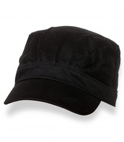 Классическая мужская кепка-немка (черная)