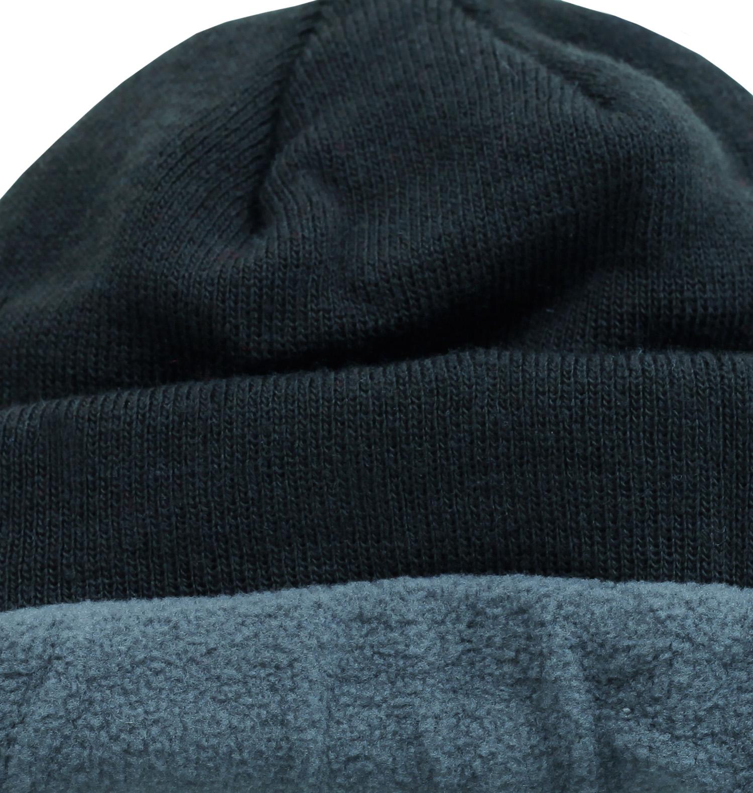 Заказать классическую мужскую шапку на флисе с отворотом для парней любящих спорт по демократической цене
