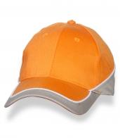 Классическая оранжевая бейсболка