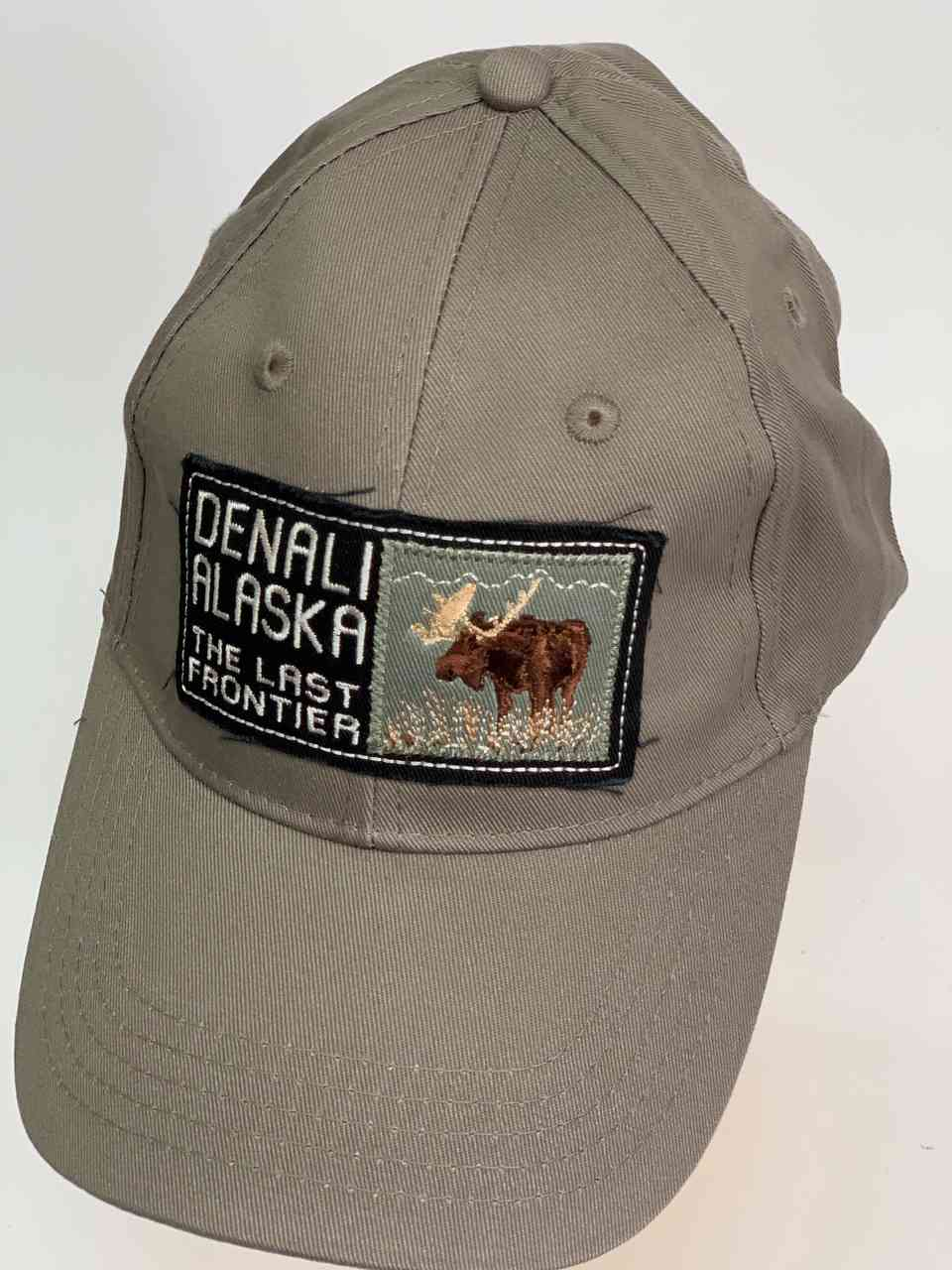 Классическая серая бейсболка DENALI ALASKA