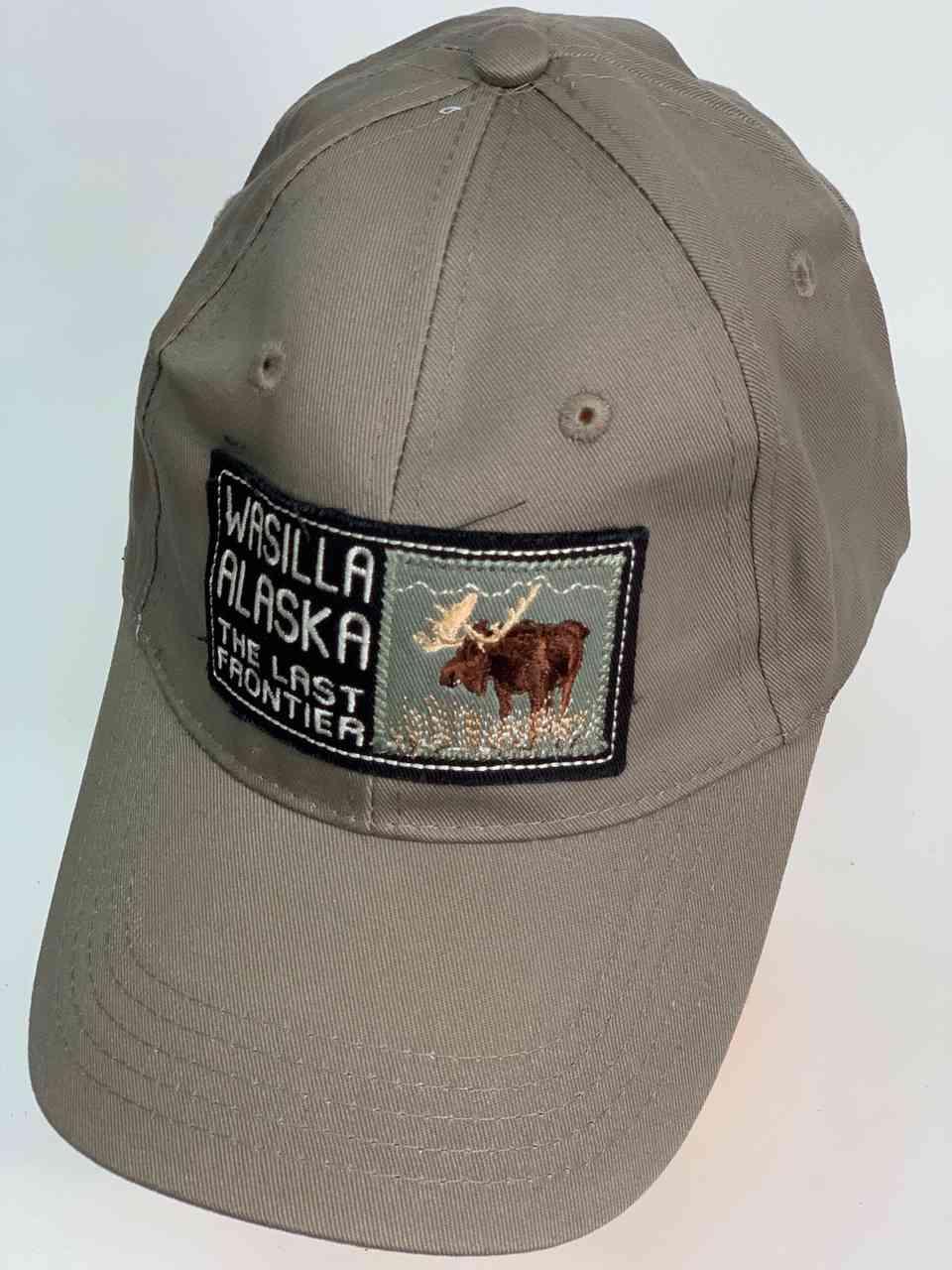 Классическая серая кепка WASILLA ALASKA