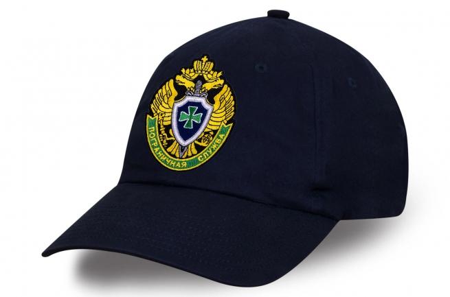 Классическая темно-синяя бейсболка Пограничная Служба
