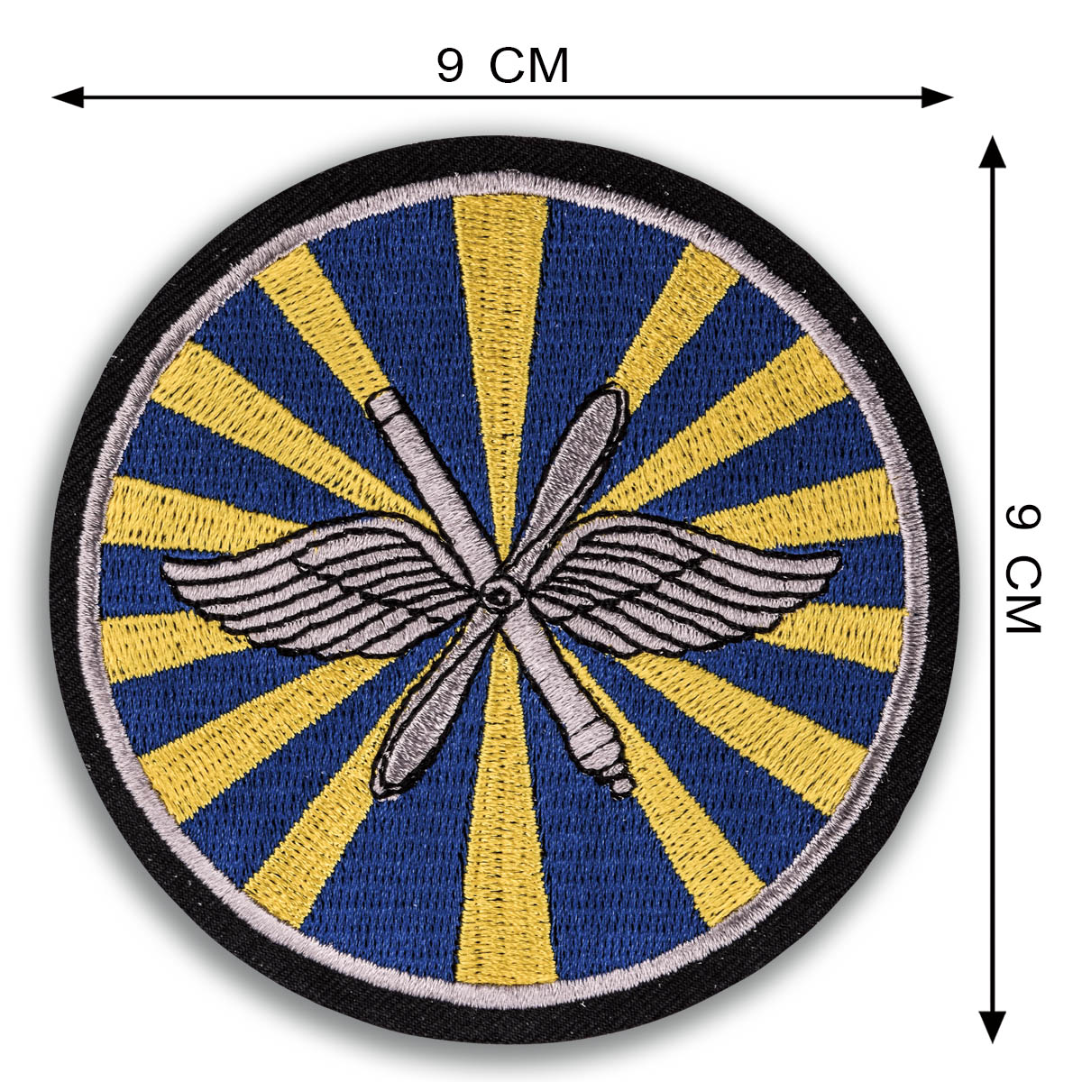 Классическая мужская толстовка с эмблемой ВВС России.