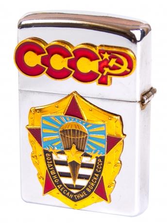 """Классическая зажигалка Zippo бензиновая """"ВДВ СССР"""""""