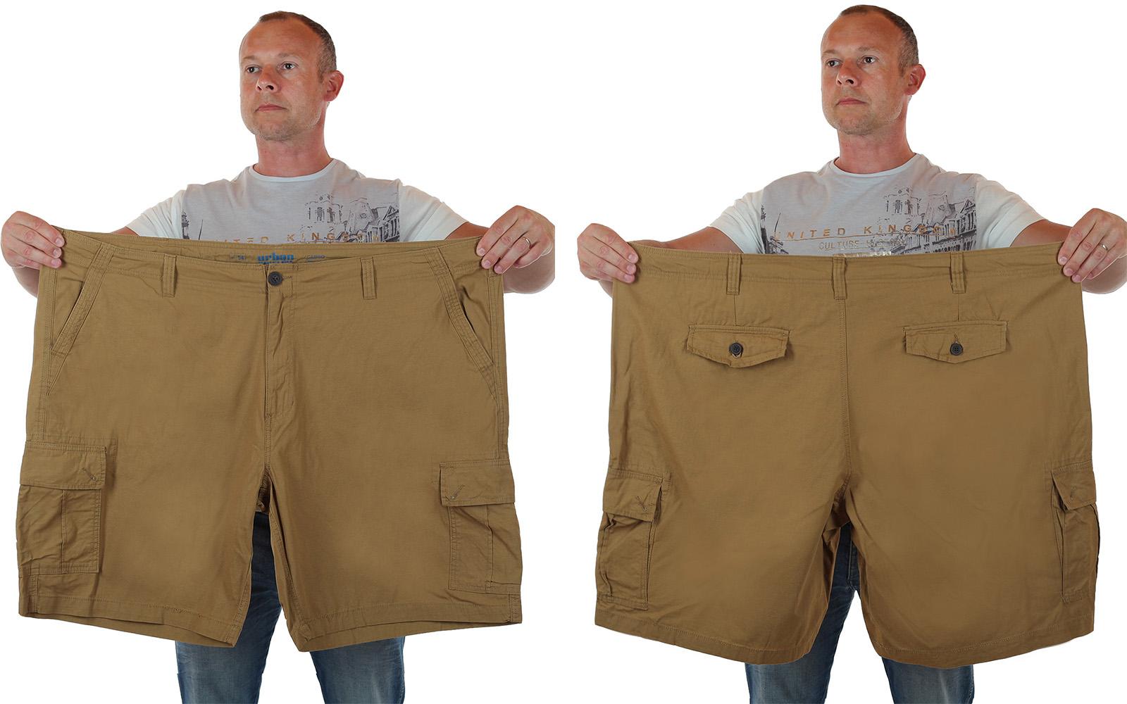 Классические Cargo от Urban шорты для мужчин крупного телосложения по лучшей цене