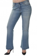 Классические женские джинсы от немецкого бренда Sheego Denim.