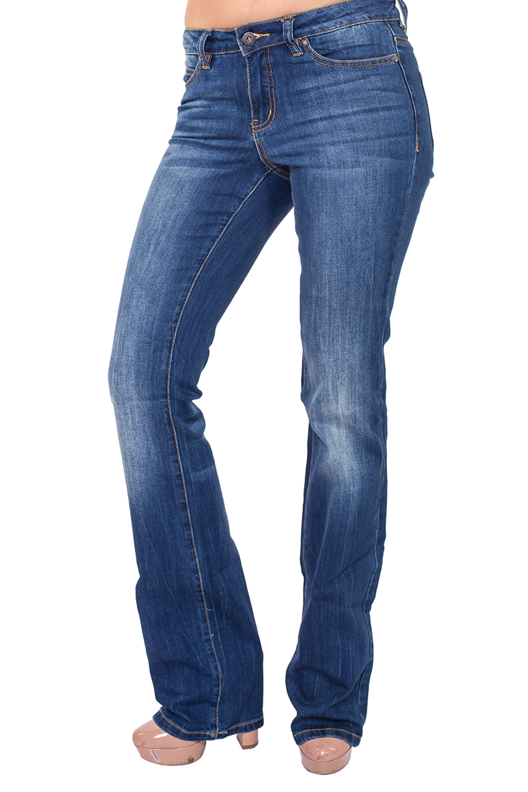 Купить в интернете женские джинсы клеш