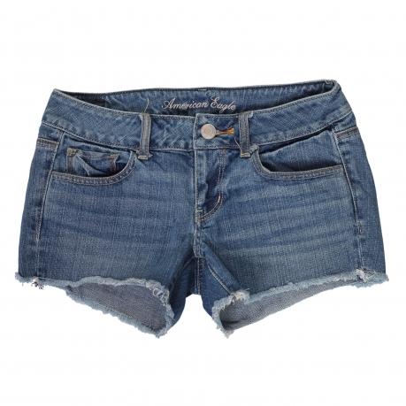 Купить классические короткие джинсовые шортики
