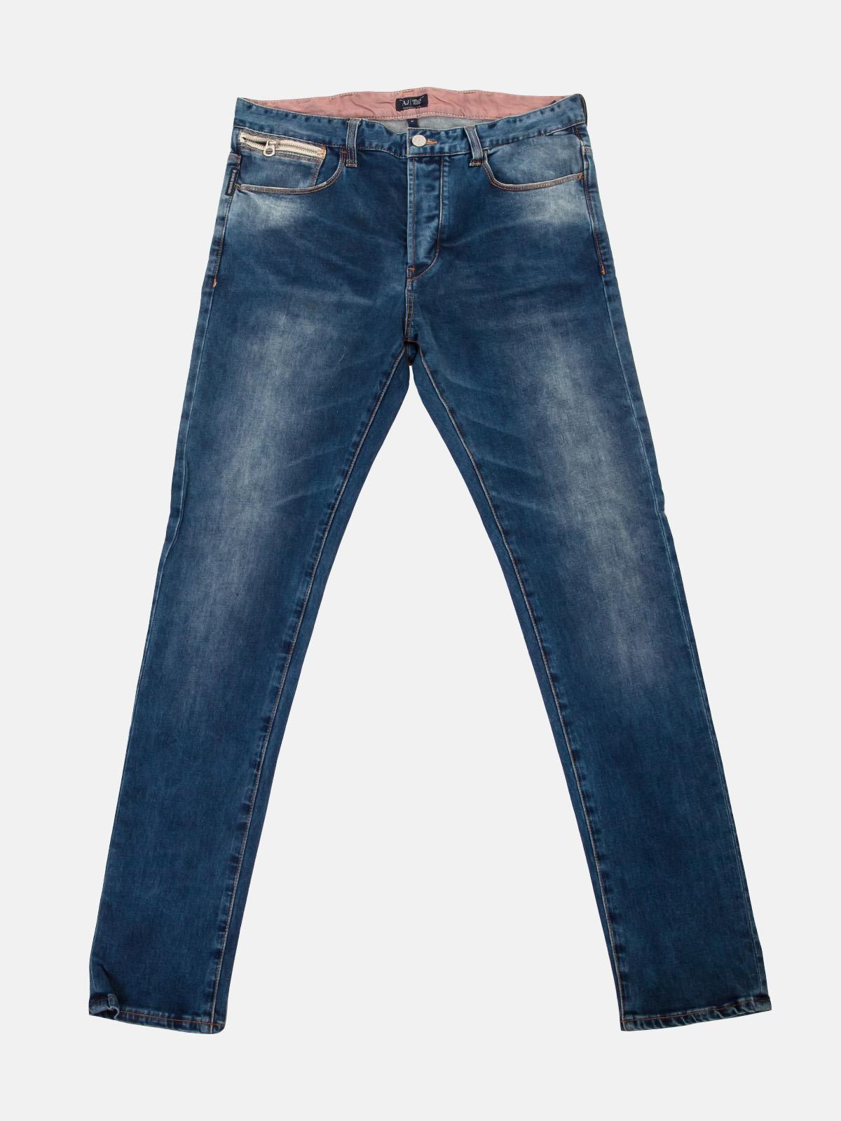 Классические протертые джинсы Armani Jeans