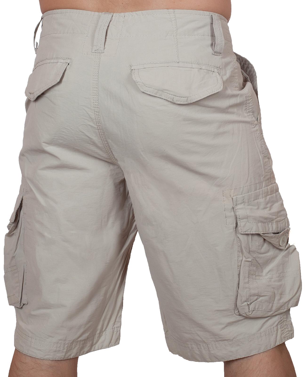 Классические светлые шорты карго от Urban Pipeline по выгодной цене