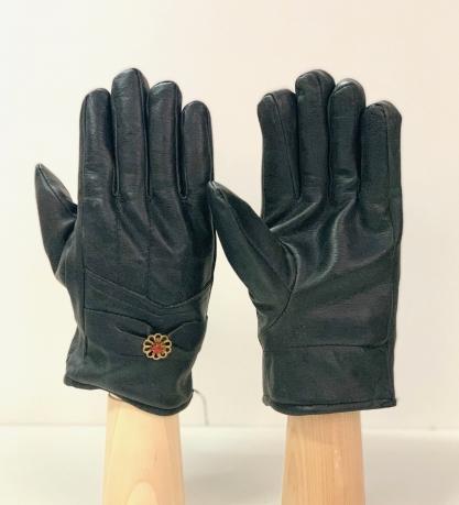 Эксклюзивные темные перчатки