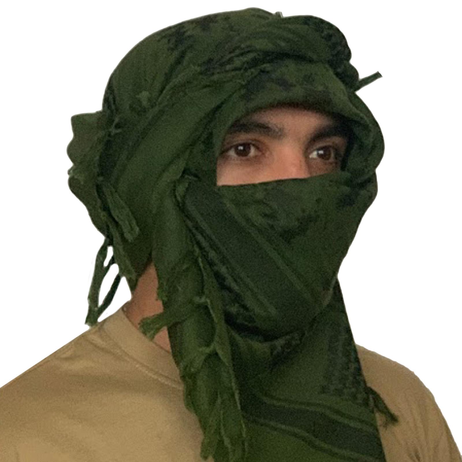 Арабские арафатки универсального размера зеленого цвета