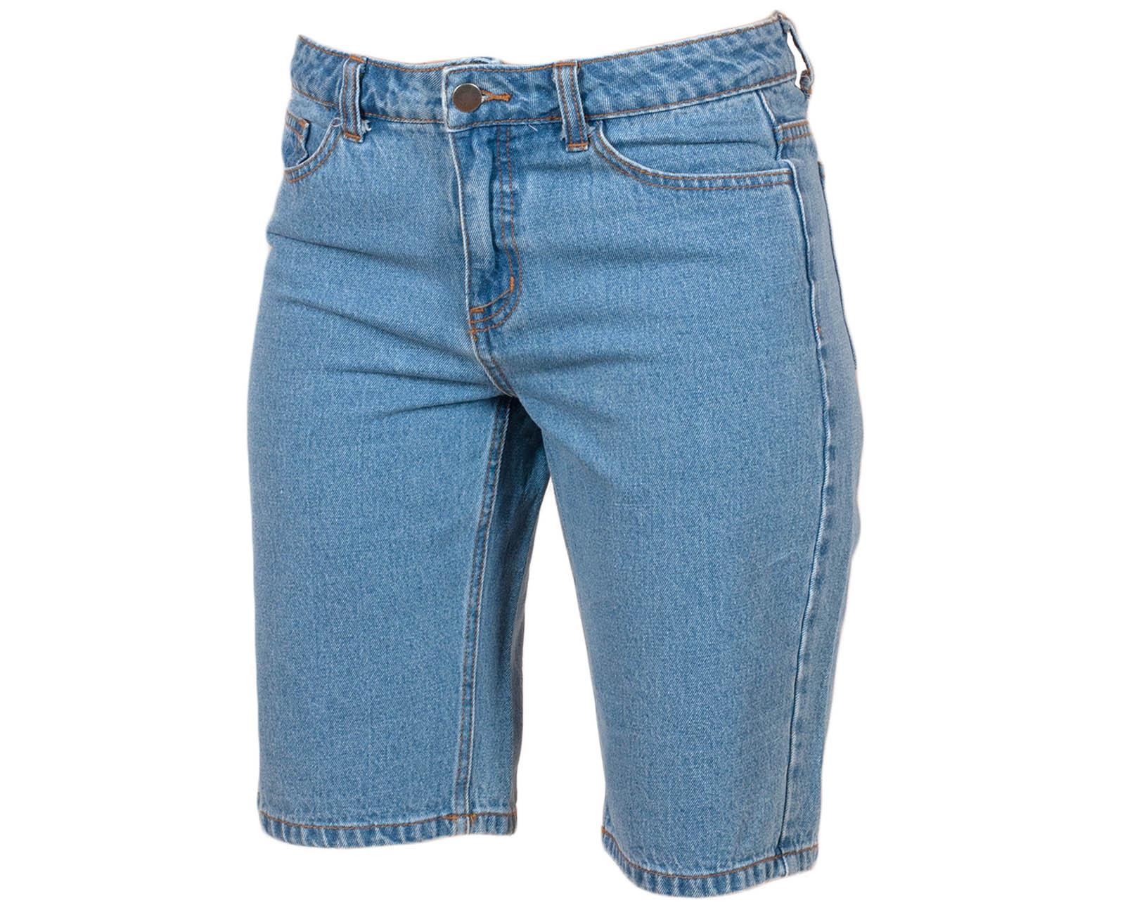 Классика гардероба: джинсовые шорты Pieces