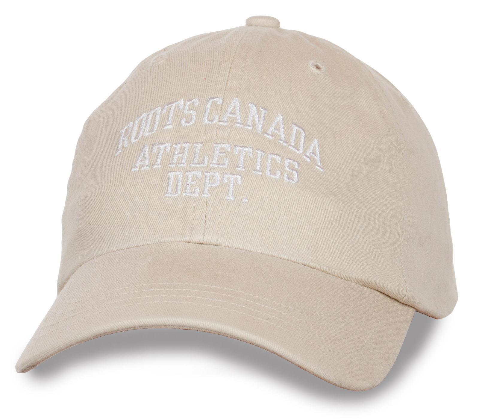 Классная бейсболка с надписью Roots Canada