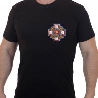 """Классная футболка с термотрансфером """"Потомственный казак"""""""