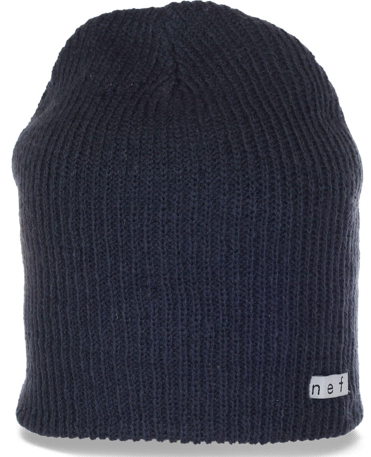 Классная городская мужская шапочка от Neff