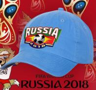 Классная кепка для болельщиц футбола Russia