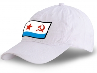 Классная кепка с принтом ВМФ СССР - купить в подарок