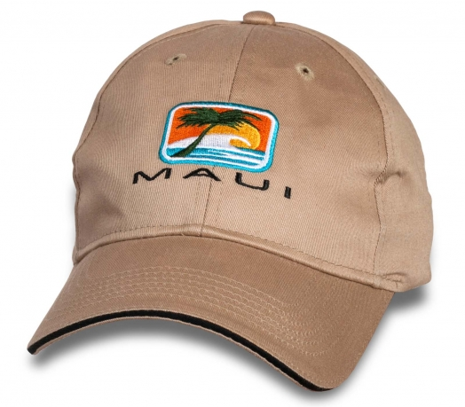 Классная летняя бейсболка Maui.