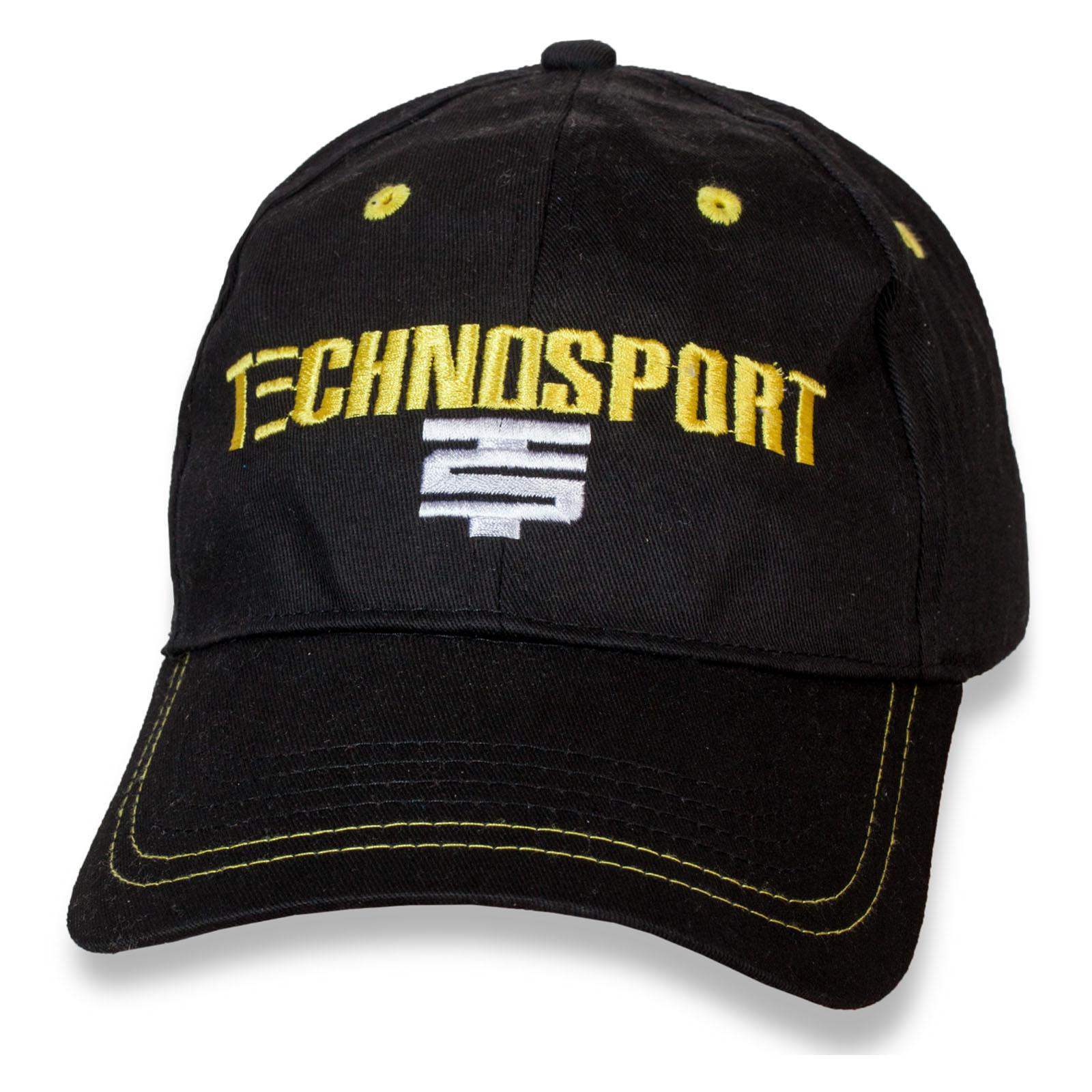 Классная молодёжная бейсболка Technosport