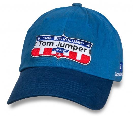 Классная мужская бейсболка Tom Jumper Chevrolet.