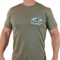 """Классная мужская футболка """"Военно-морской флот"""""""