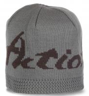 Классная мужская шапка для межсезонья от Action Fox