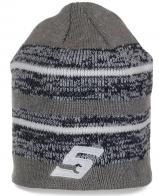 Классная мужская шапочка для межсезонья