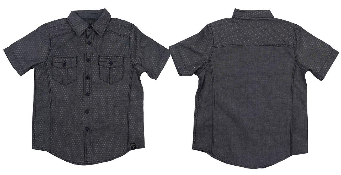 Классная рубашка для подростков от немецкого бренда Surplus-двойная