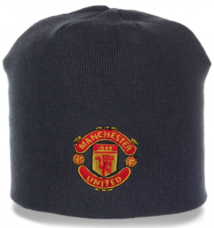 Классная шапка болельщика Manchester United