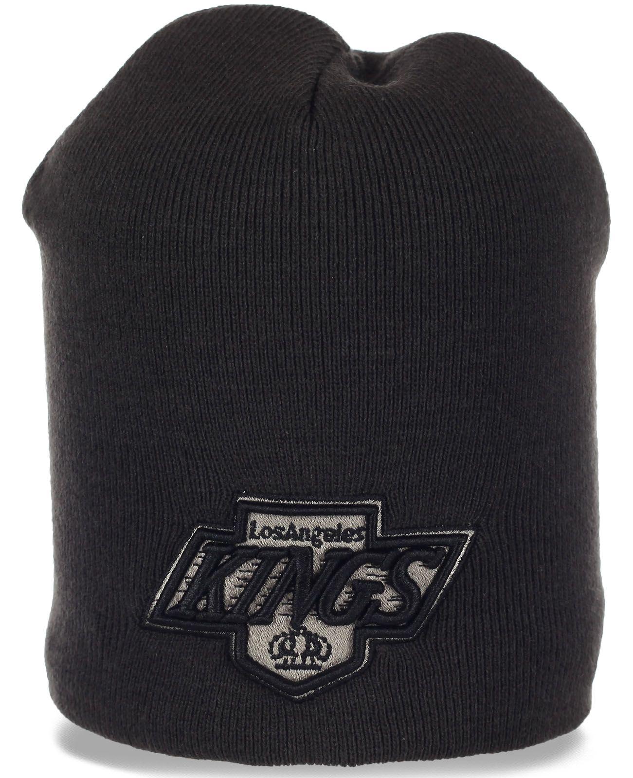Классная шапка фаната Los Angeles Kings