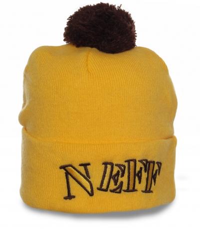 Классная шапка от Neff. Повседневная модель в спортивном стиле. Тепло и комфорт гарантированы!