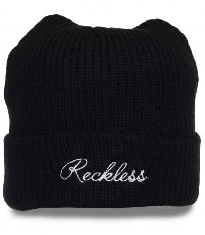 Классная шапка Reckless. Привлекательная модель для мужчин, ценящих комфорт