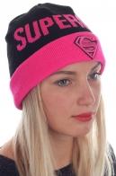 Классная шапка SuperGirl. Соблазнительная модель для девушек с изюминкой