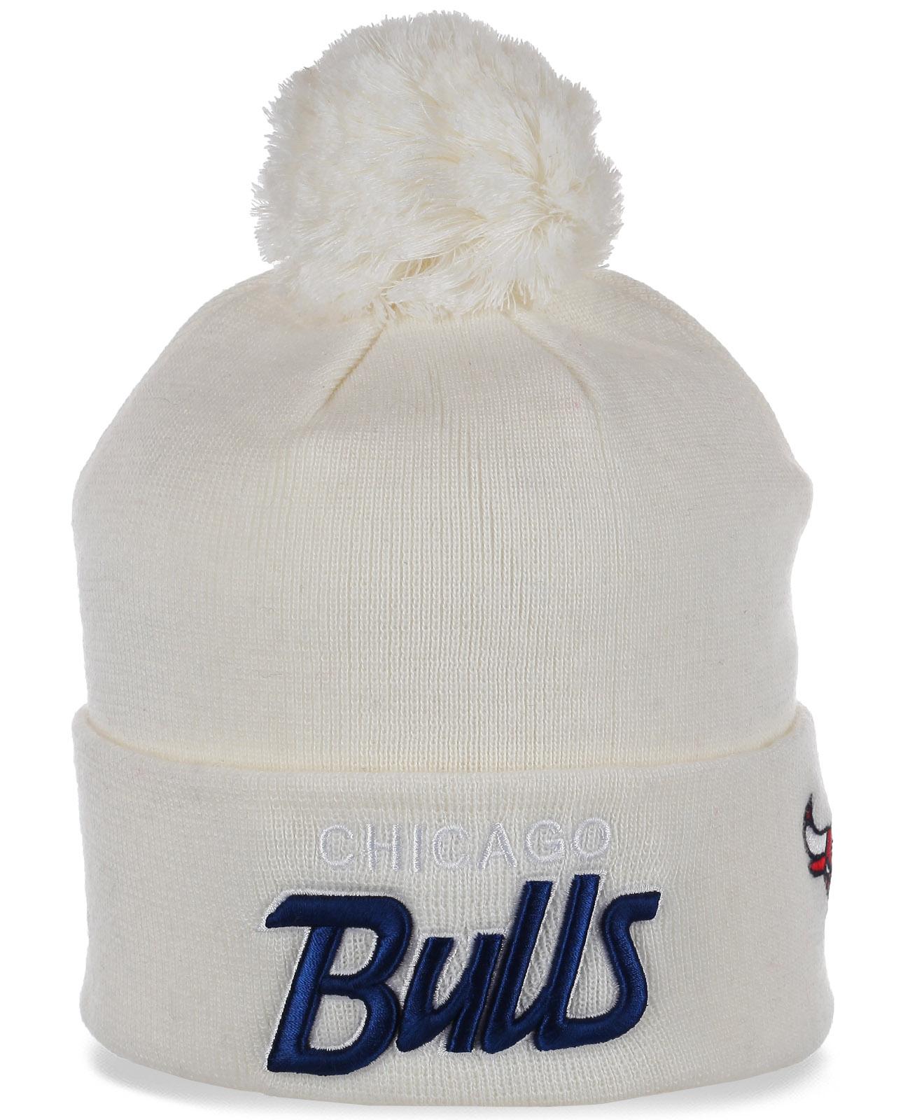 Классная шапочка фанатов Chicago Bulls