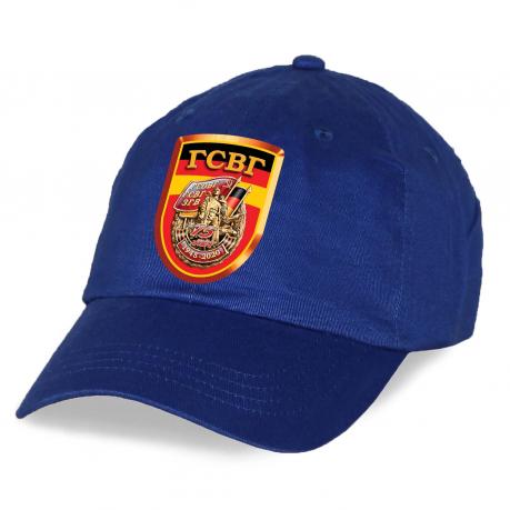 Классная синяя кепка ГСВГ