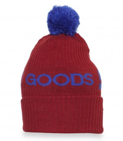 Классная спортивная зимняя шапка