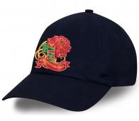 """Классная темно-синяя кепка с термотрансфером """"ЖЕНА ПОГРАНИЧНИКА"""" купить онлайн"""