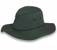 Классная темно-зеленая шляпа