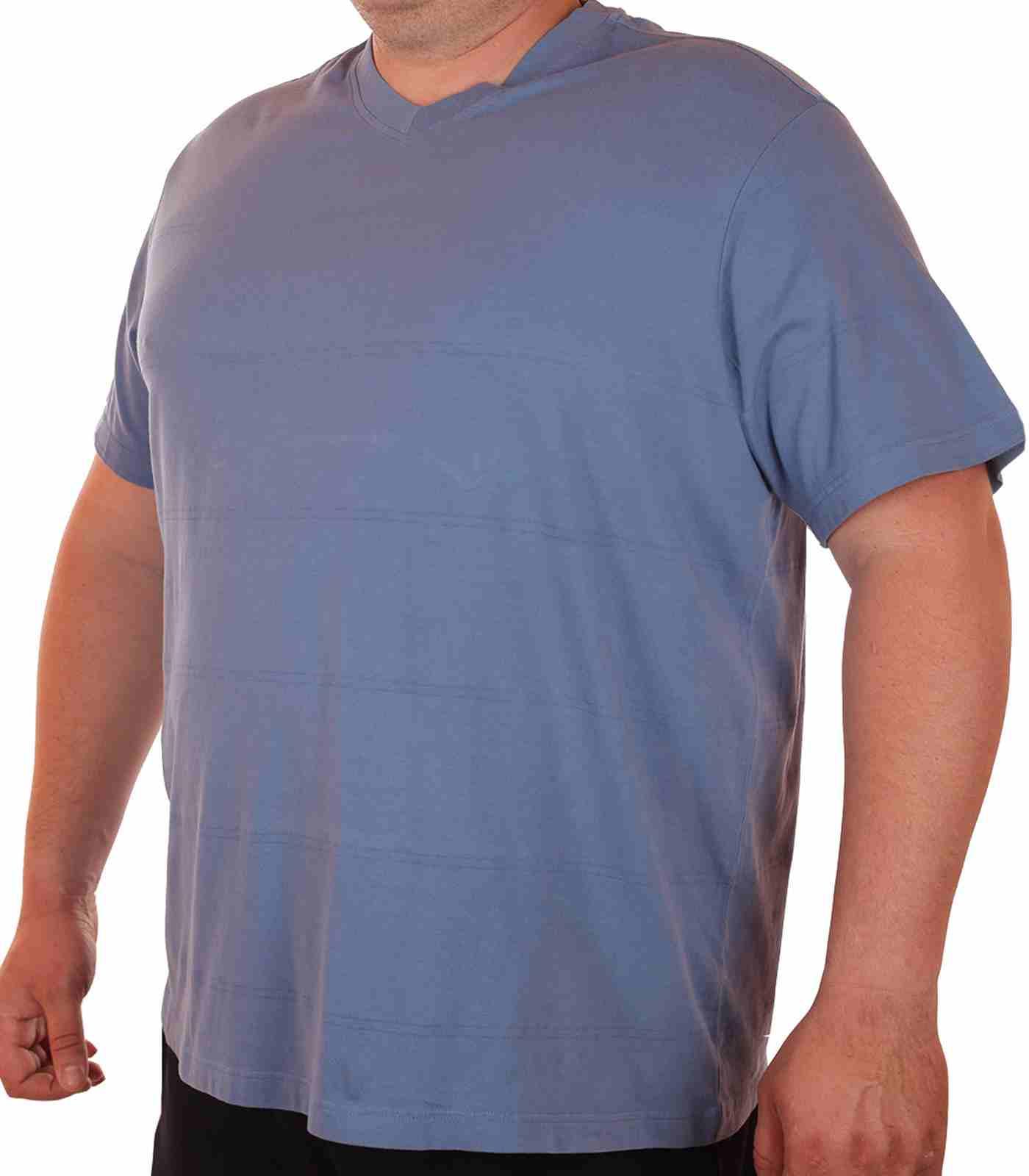 Повседневная футболка больших размеров (батал) от Roundtree & Yorke (США)-главная