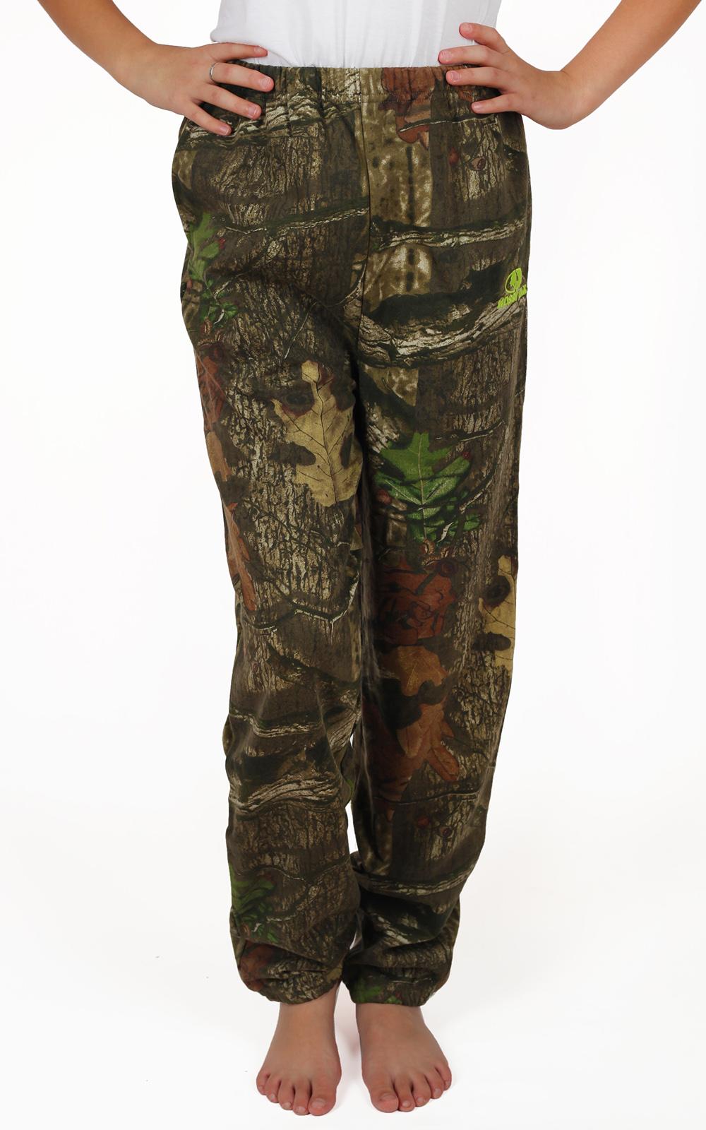 Демисезонные детские штаны Mossy Oak® на резинке. Подходят мальчикам и девочкам. Гарантируем, ребенку понравится фасон и цвет, а его родителям – качество и цена!