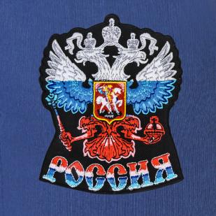 Классные спортивные штаны с гербом России