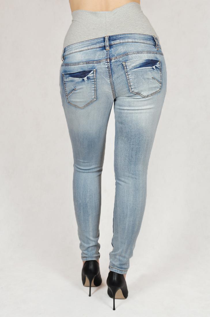 Классные светлые джинсы для беременных. Оставайся красоткой все 9 месяцев!