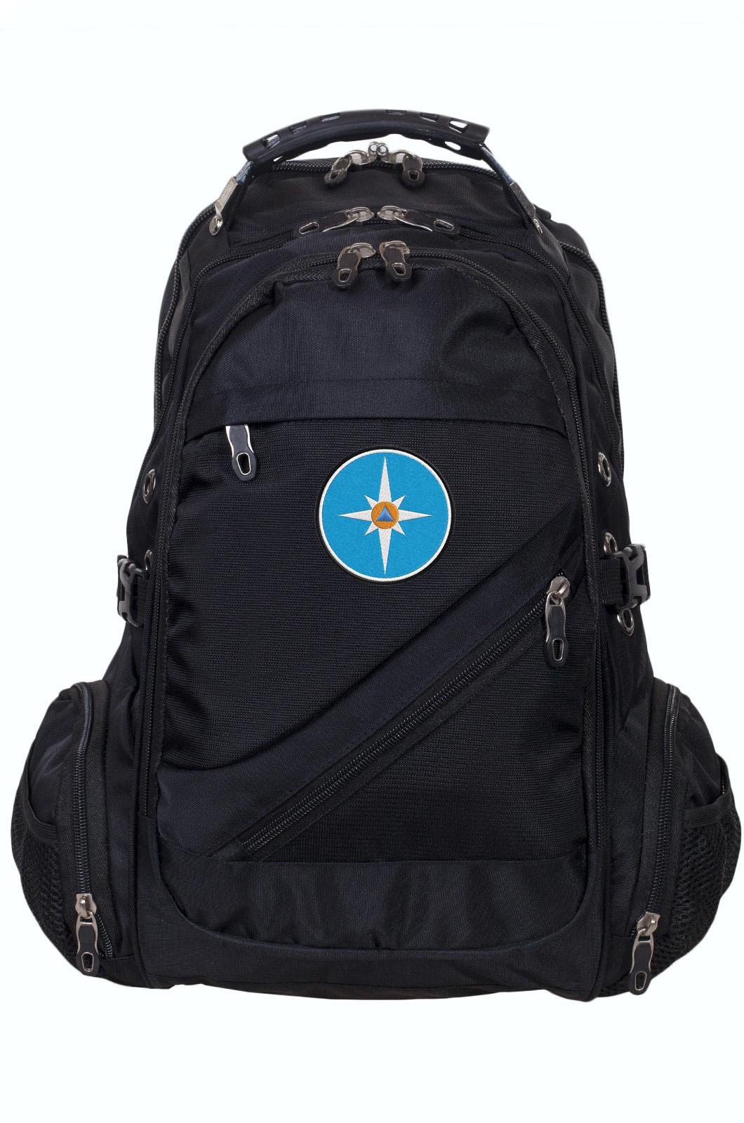 Классный городской рюкзак с эмблемой МЧС