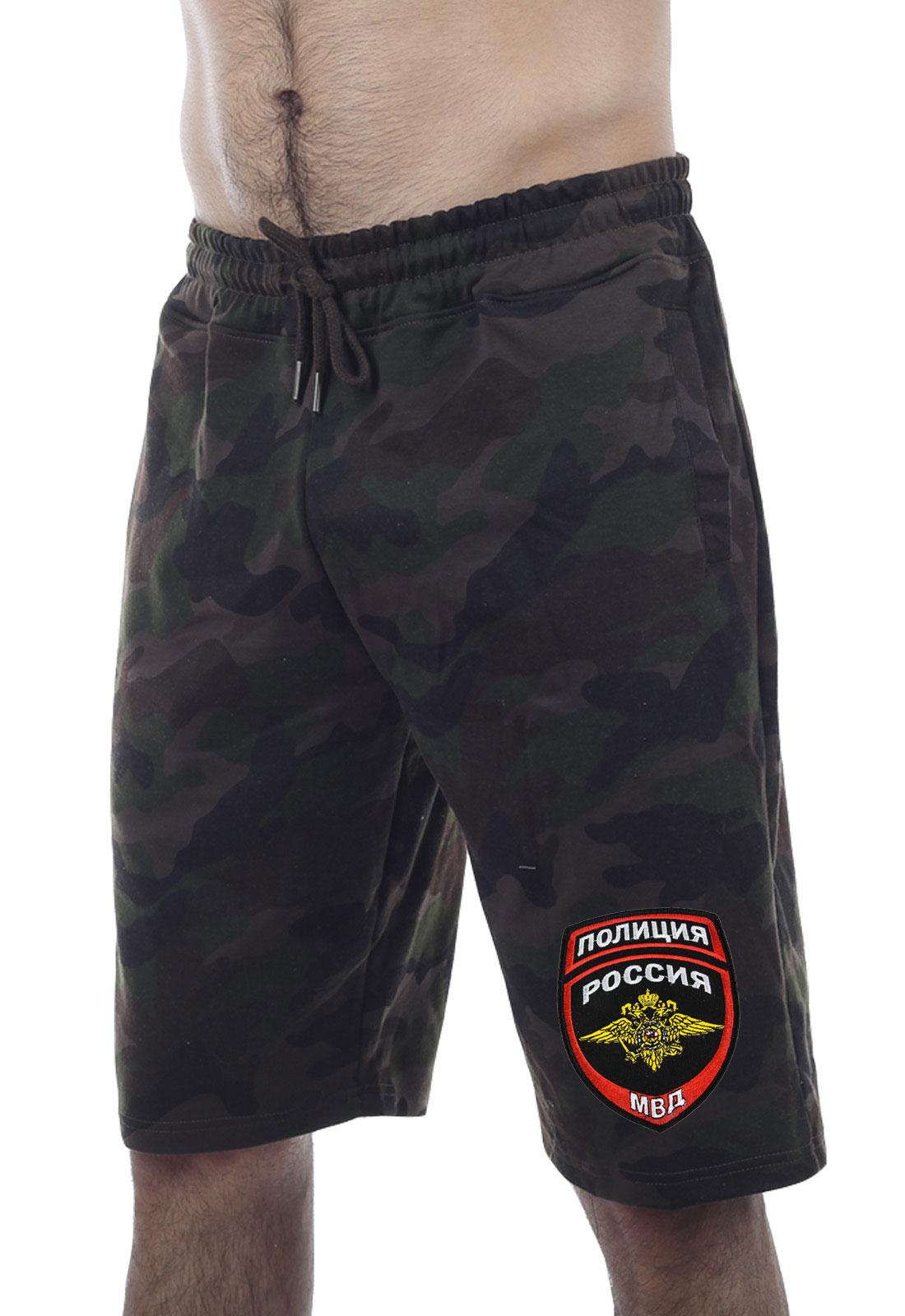 """Классные камуфлированные шорты """"Полиция"""""""