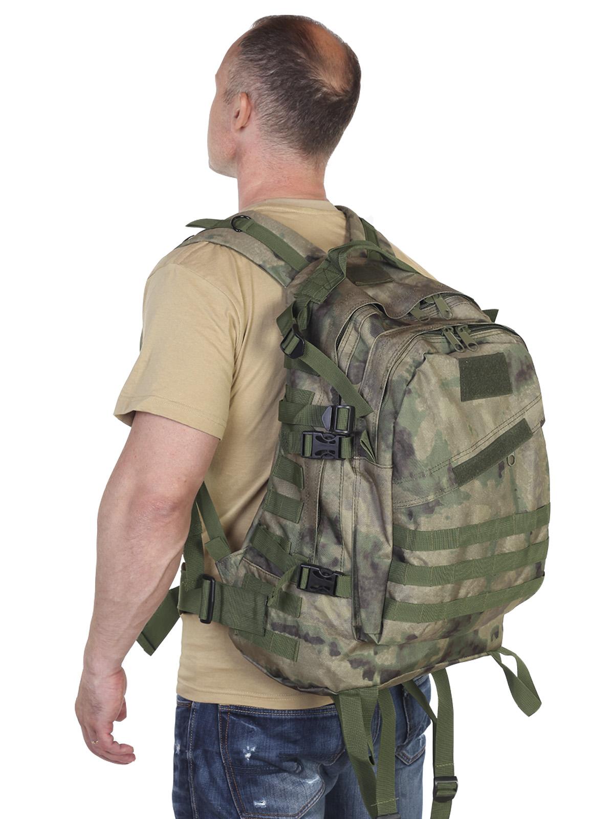 """Классный штурмовой рюкзак (камуфляж Росгвардии """"Мох"""", 30 л)"""
