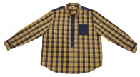 Ультра-универсальная клетчатая мужска рубашка John Baner
