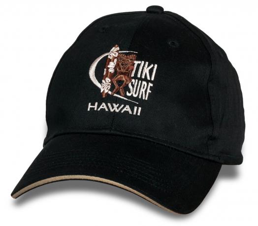 Клевая черная кепка  Hawaii.