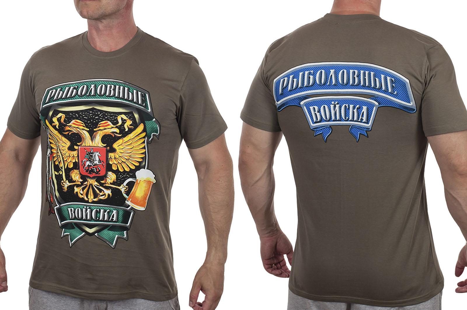 Клёвая рыбацкая футболка с доставкой